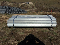 New Zealand Fencing Solutions - G008E Heavy Duty Cattle Yard Gate 2.7m (Out of Stock)